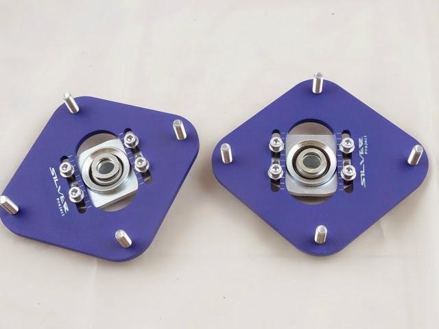Camber Plates TOYOTA AE82 , E8B , FX16 , COROLLA GT - GRUBYGARAGE - Sklep Tuningowy